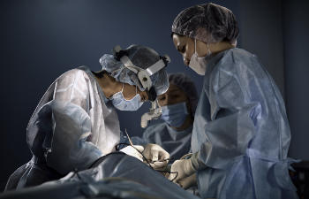doctors during surgery
